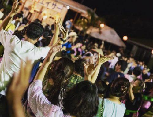 2019年8月14日 石垣島 旧盆明石エイサー祭り・祭り前Live